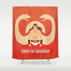 SON OF CROM Shower Curtain