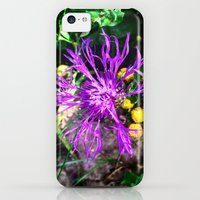 iPhone Cases featuring The morning flower at mountain. by Mikhail Zhirnov