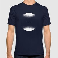 Polar Caps Mens Fitted Tee Navy SMALL