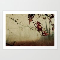 Knowing When To Let Go Art Print