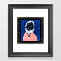 Man With Beard Haunted B… Framed Art Print