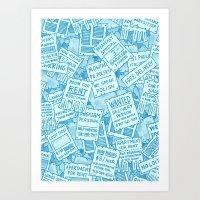 Flyers Art Print
