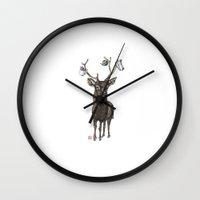 Oh My Deer Wall Clock