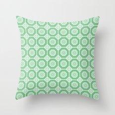 Old Tiles Throw Pillow