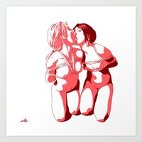 Love Tied Art Print