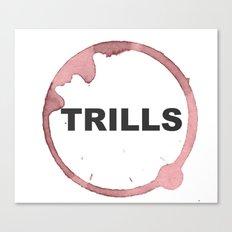 Trills Logo Canvas Print