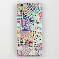 Geometric Abstract Lines Labirinth  iPhone & iPod Skin