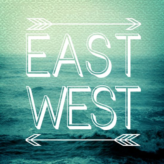 East // West Art Print