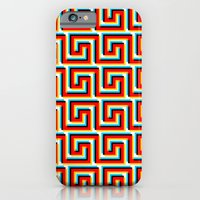 iPhone & iPod Case featuring Pixel Wave by athomahawk