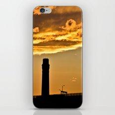 Golden Sunset iPhone & iPod Skin