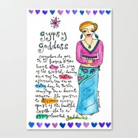 Gypsy Goddess Canvas Print