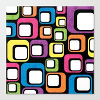 Retro All Sorts. Canvas Print