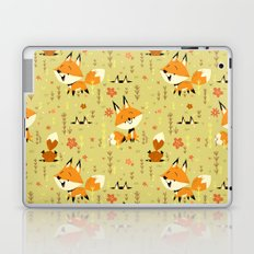 Foxes in the Spring Laptop & iPad Skin