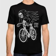 Death Rider Mens Fitted Tee Black SMALL