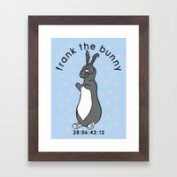Don't Pat the Bunny Framed Art Print