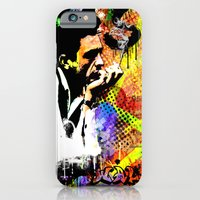 iPhone & iPod Case featuring You Can't Walk No Line by Zoé Rikardo