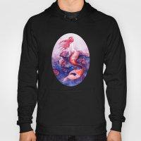 Red Coral Mermaid Hoody