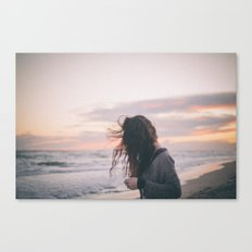 There's always a mess in my head Canvas Print