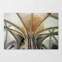 Bayeux Archways Canvas Print