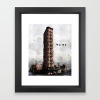 Highrise #1 Framed Art Print