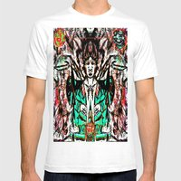 Cosmic Exposure Mens Fitted Tee White SMALL