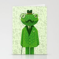 Mr. Frog Stationery Cards
