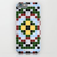 iPhone Cases featuring MARBLE MANDALA by EnvyDesigns