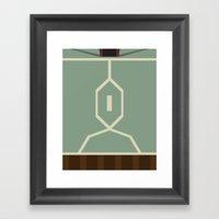 Star Wars - Boba Fett Framed Art Print