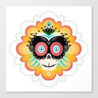 Dia De Los Muertos Calav… Canvas Print