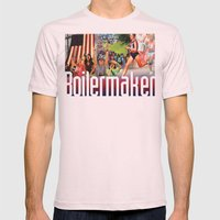 Boilermaker Road Race Mens Fitted Tee Light Pink SMALL
