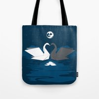 Origami Lake Tote Bag