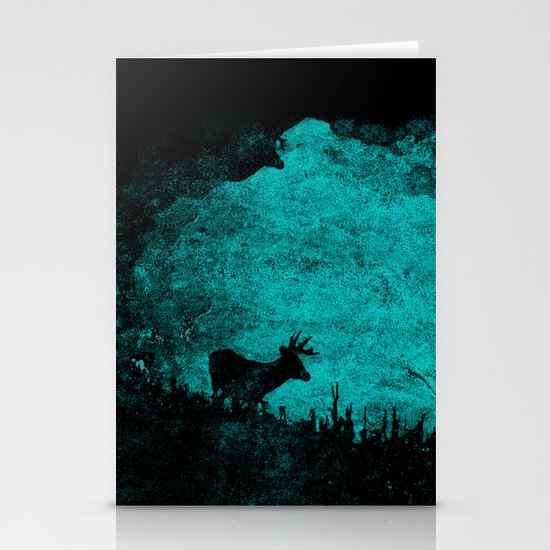 Patronus in a Dream Stationery Card