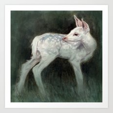 A Forest Ghost Art Print