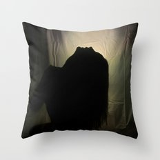 Howlin' For You Throw Pillow