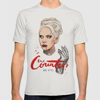 The Countess, Elizabeth Mens Fitted Tee Silver SMALL