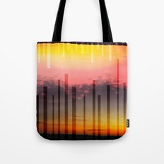 Falling Sun, Mirriored Sky - Vibrant Tote Bag