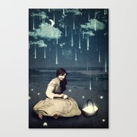 A Basket Of Wishes Canvas Print