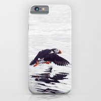 Puffin approaching! iPhone 6 Slim Case
