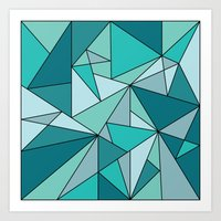Blueup Art Print