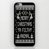 Merry Christmas Ya Filth… iPhone & iPod Skin