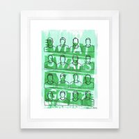 WHAT SWAPS YOU GOT ? Framed Art Print
