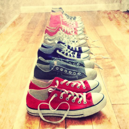 Converse Is Love Color Art Print