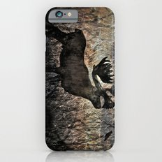 In the Woodlands, Far Far Away (amber version) iPhone 6 Slim Case