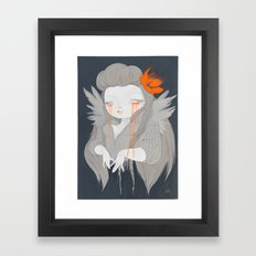 Hawaiian Raven Framed Art Print