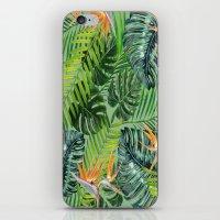 Jungle Tangle Paradise  iPhone & iPod Skin