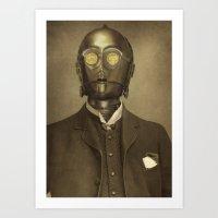 Baron Von Three PO  Art Print