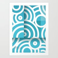 optical illusion_1 Art Print