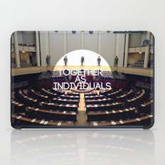 Together As Individuals iPad Case