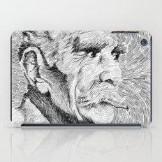 Hombre - black ink iPad Case