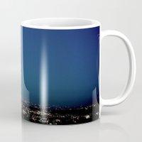 l.a. blur Mug